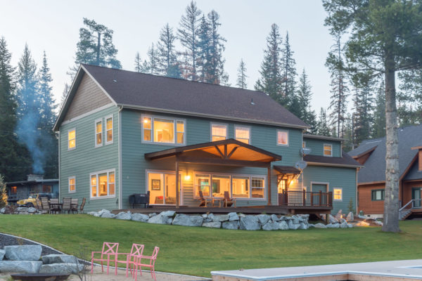 Custom Two-Story Priest Lake
